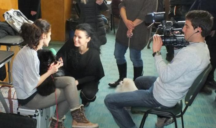 Interview with us for Hobby TV